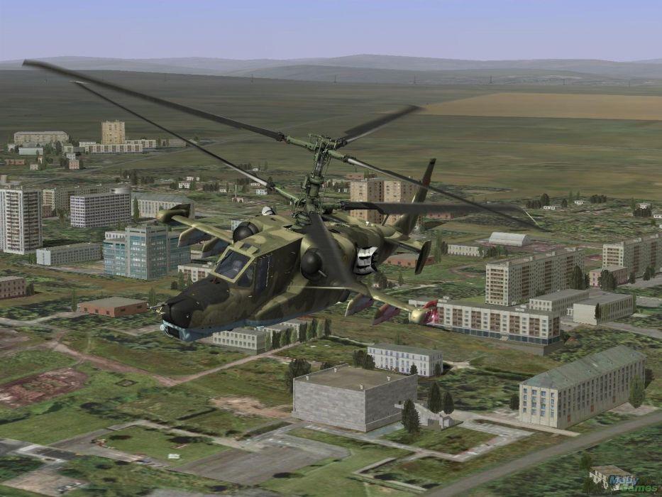 KAMOV KA-50 BLACK SHARK GUNSHIP attack helicopter military russian russia soviet weapon aircraft (58) wallpaper