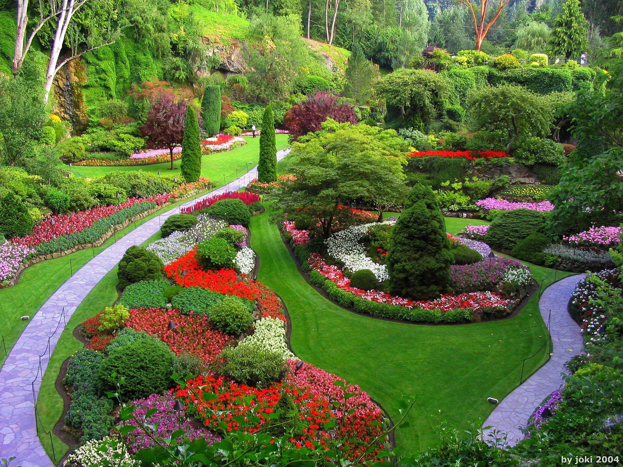Garden park landscape (16) wallpaper | 2048x1536 | 323089 ...