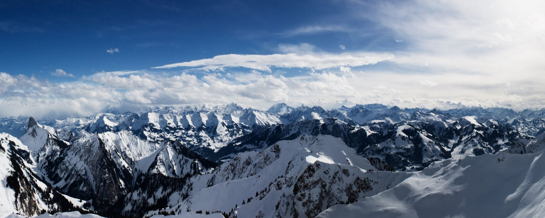 alps mountains dual monitor-other wallpaper