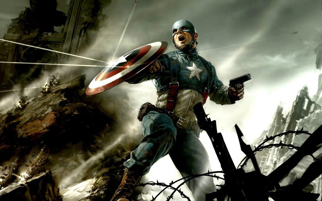 captain america cg-wide wallpaper