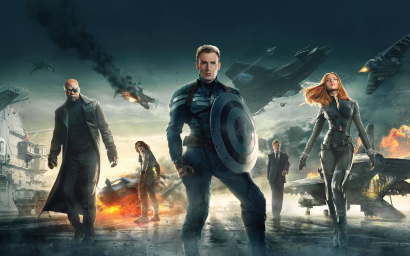 captain america the winter soldier 2014-wide wallpaper