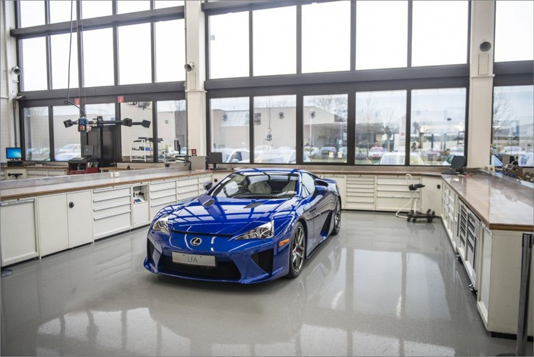 dream car garage lexus lfa in the toyota motorsportais
