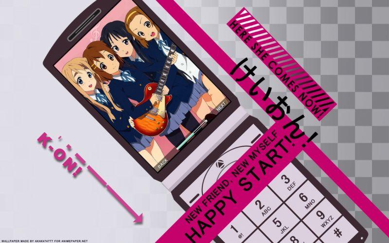 K-ON! school uniforms Hirasawa Yui guitars Akiyama Mio Tainaka Ritsu Kotobuki Tsumugi Higashi no Eden wallpaper