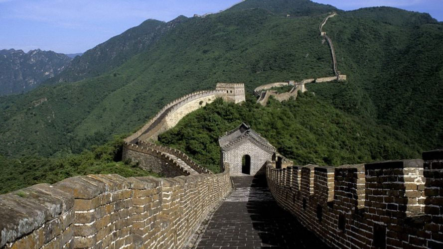 landscapes nature Great Wall of China wallpaper