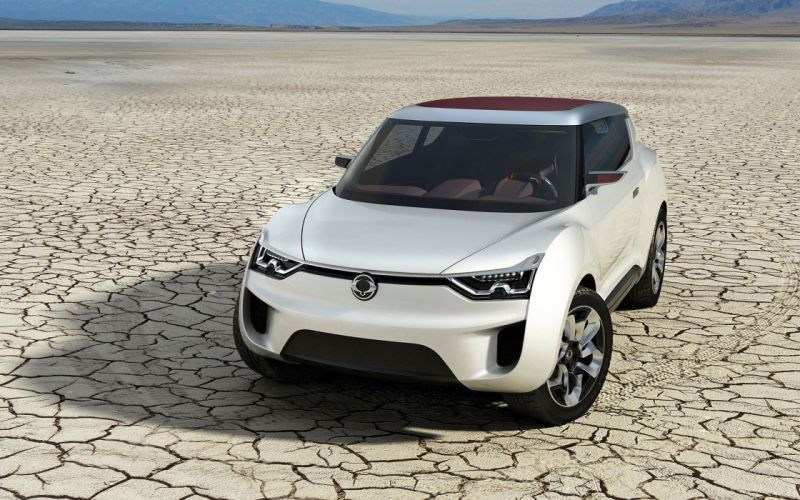 cars concept art SsangYong wallpaper