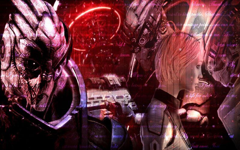 Mass Effect science fiction FemShep Commander Shepard wallpaper