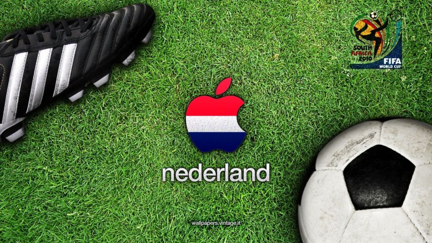 sports soccer Netherlands Holland Fifa World Cup World Cup The Netherlands South Africa 2010 wallpaper
