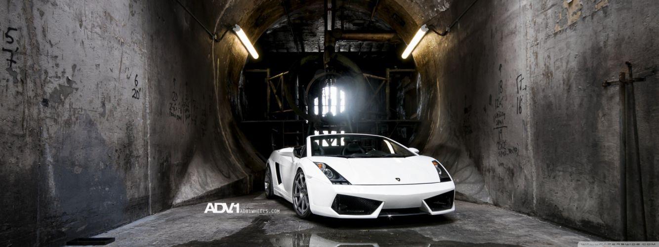 cars Lamborghini Gallardo Lamborghini Gallardo Spyder ADV 1 adv1 wheels wallpaper