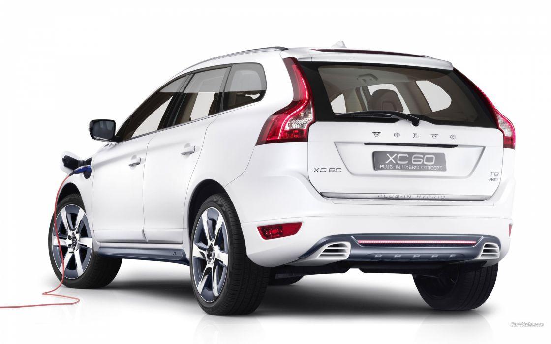 Volvo Hybrid vehicles supercars wallpaper