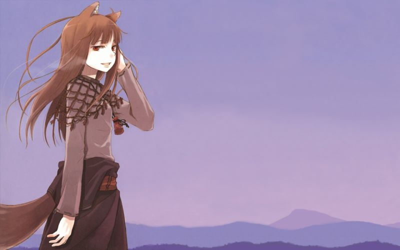 Spice and Wolf animal ears Holo The Wise Wolf inumimi wallpaper