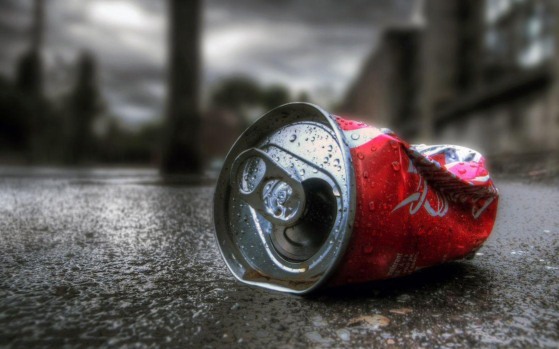 Coca-Cola HDR photography wallpaper