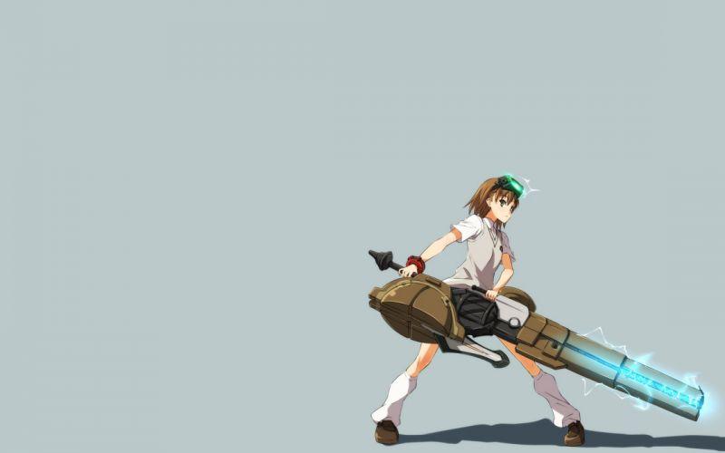 school uniforms Misaka Imouto anime simple background anime girls loose socks Toaru Majutsu no Index wallpaper