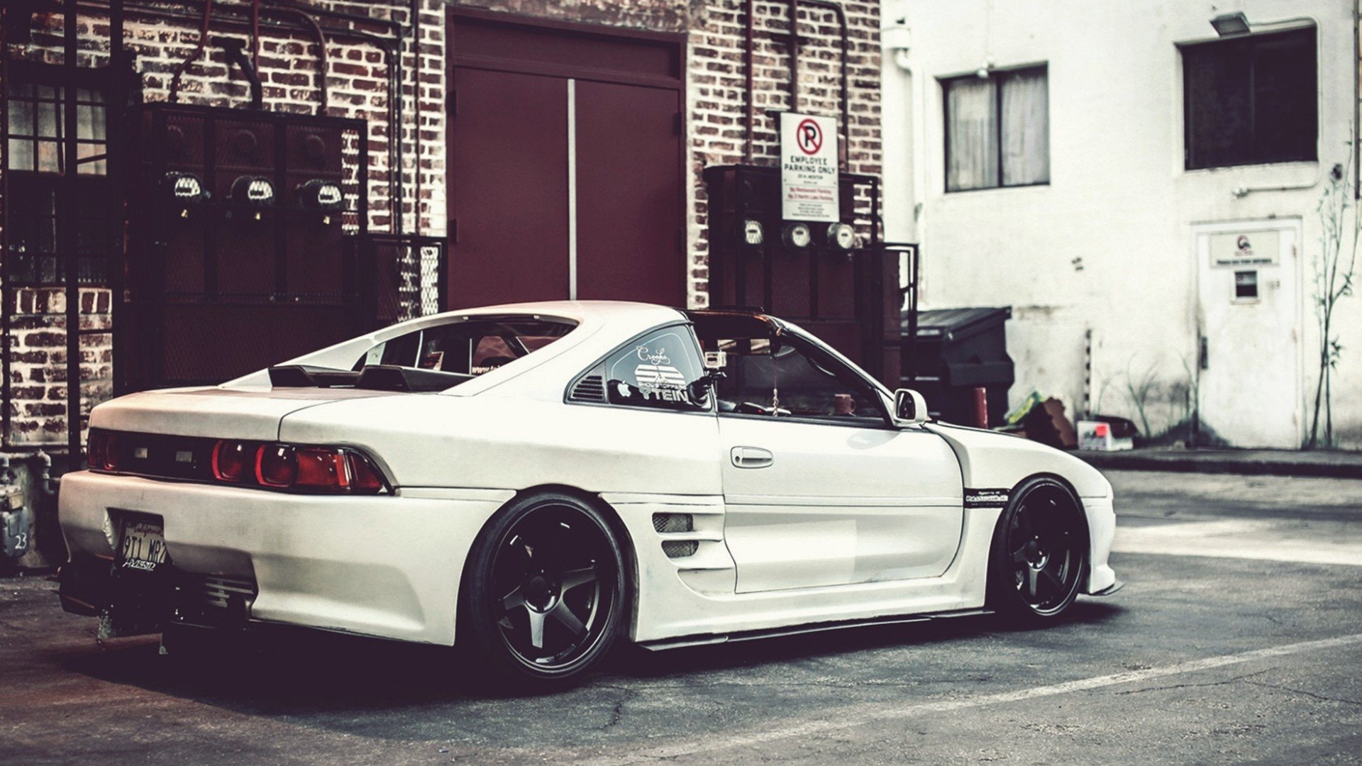 streets cars toyota tuning toyota mr2 wallpaper. Black Bedroom Furniture Sets. Home Design Ideas