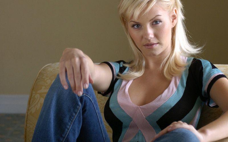 blondes women Elisha Cuthbert actress models wallpaper