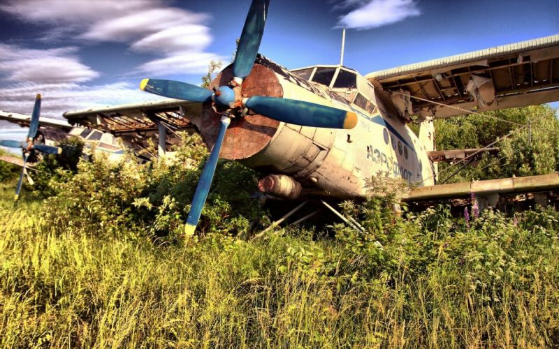 aircraft abandoned TagNotAllowedTooSubjective wallpaper