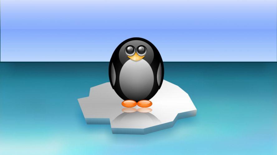 Linux tux penguins wallpaper