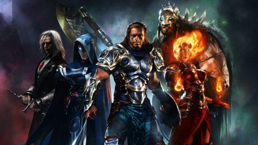video games Magic: The Gathering mtg Trading Card Game wallpaper