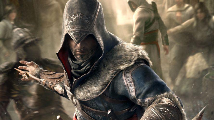 video games Assassins Creed Ezio artwork Assassins Creed Revelations Ezio Auditore da Firenze wallpaper