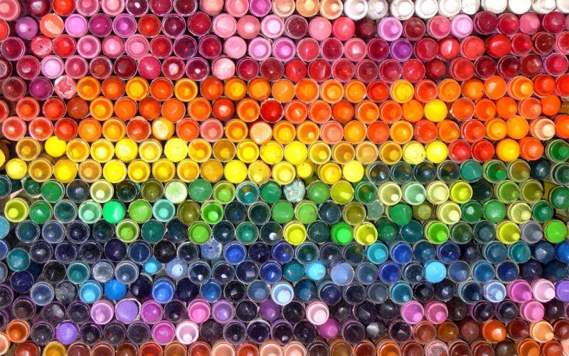 multicolor crayons wallpaper
