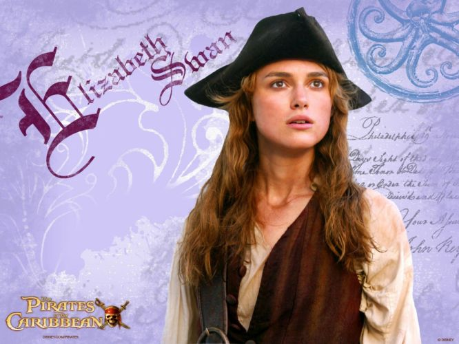 movies Keira Knightley Pirates of the Caribbean Elizabeth Swann wallpaper
