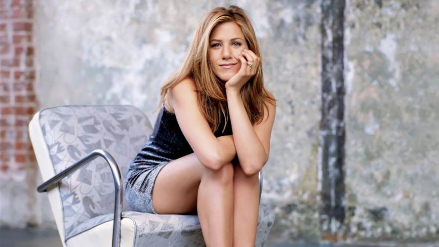 blondes women Jennifer Aniston celebrity wallpaper