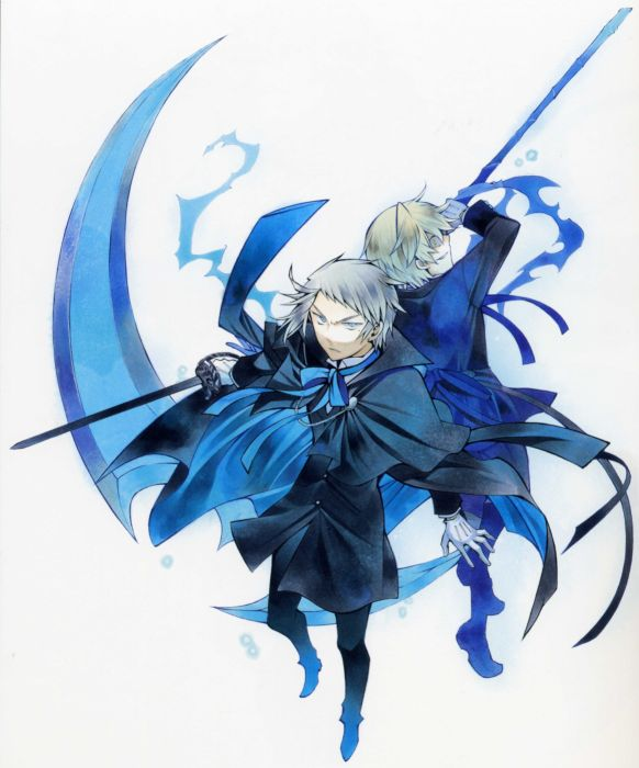 Blue Scythe Pandora Hearts Anime Anime Boys Oz Vessalius