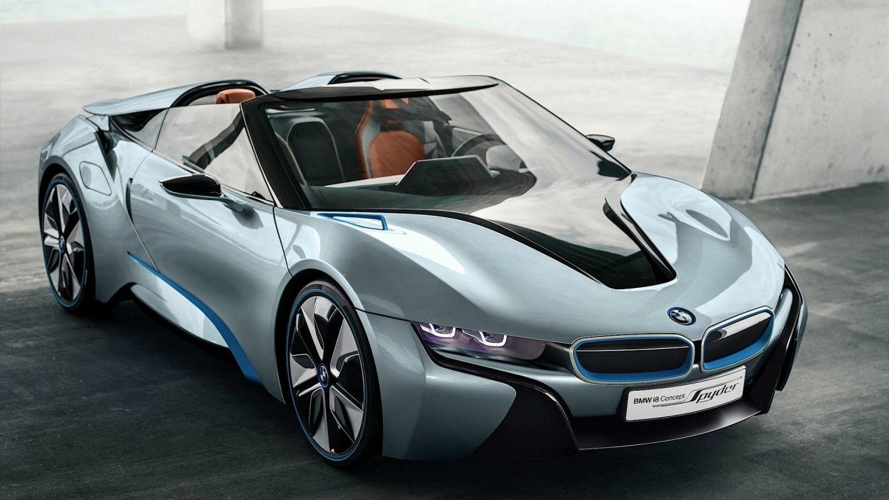 BMW cars spyder BMW i8 concept wallpaper