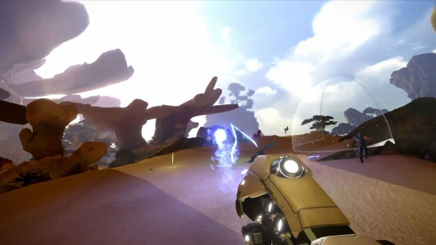 video games trailer MMO gameplay firefall red 5 wallpaper