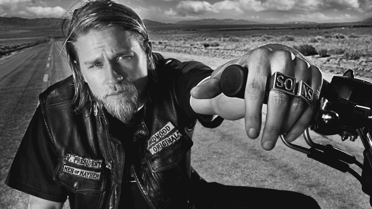 Sons Of Anarchy Celebrity Actors Charlie Hunnam Wallpaper