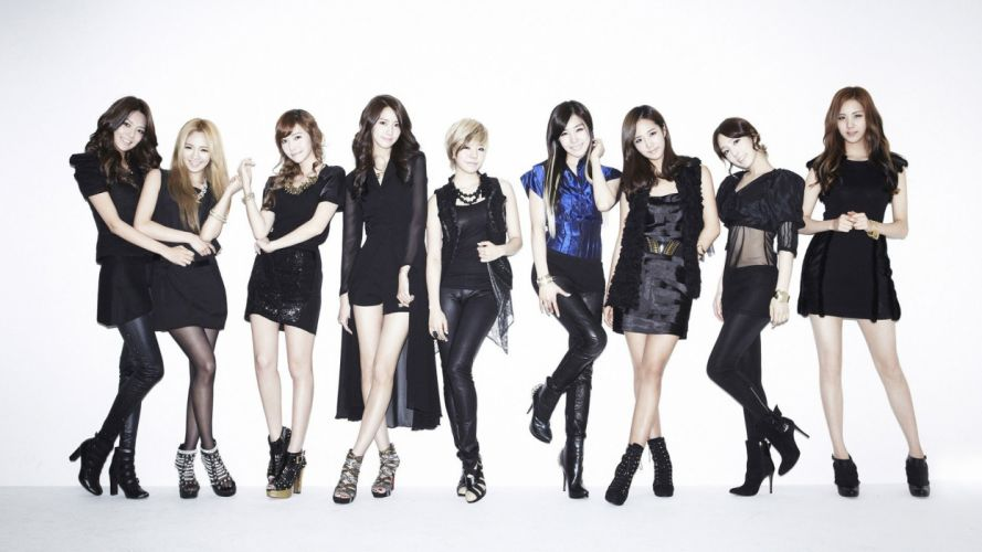 women Girls Generation SNSD Asians Korean K-Pop simple background wallpaper