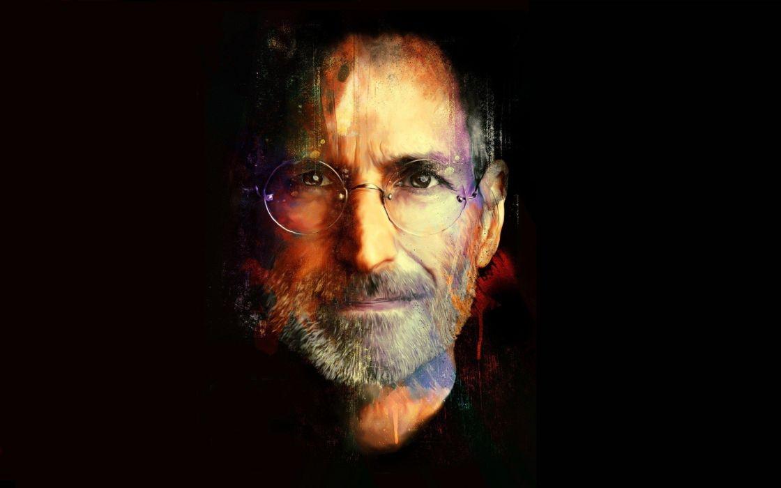 Apple Inc_ men Steve Jobs RIP wallpaper