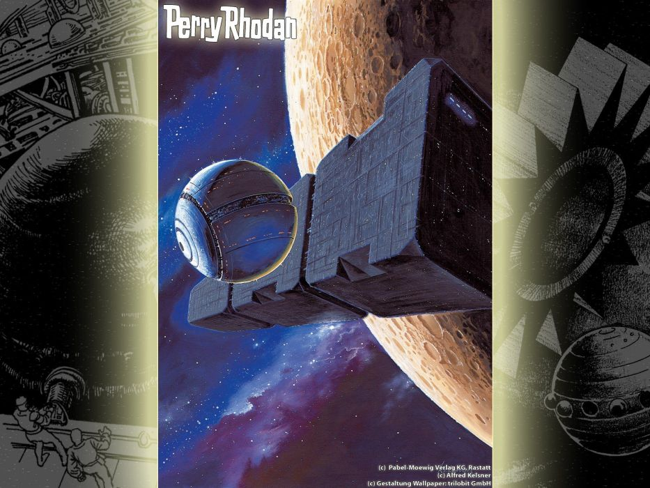 outer space magazines Perry Rhodan magazine covers wallpaper