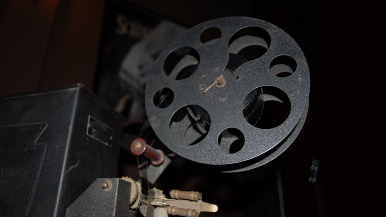 film projector wallpaper