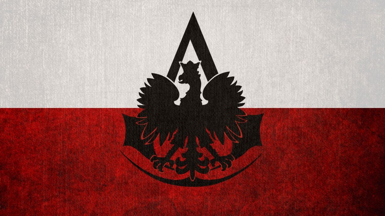 Assassins Creed Flags Poland Logos Polish Flag Polish Eagle Wallpaper 1920x1080 323928 Wallpaperup