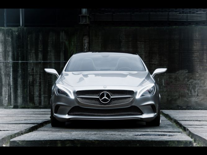 cars concept art static Mercedes-Benz Style Coupe wallpaper