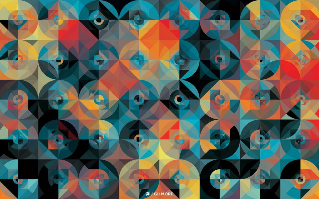 abstract geometry Andy Gilmore wallpaper