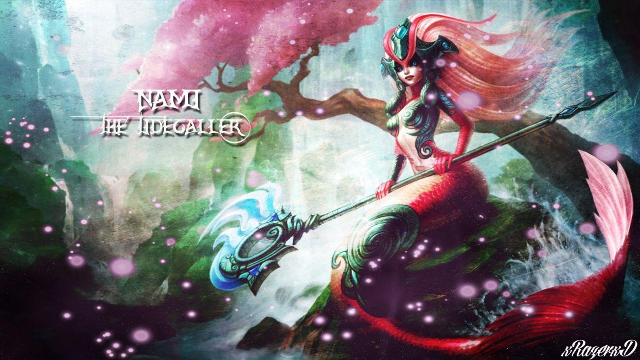 League of Legends koi Nami (One Piece) wallpaper
