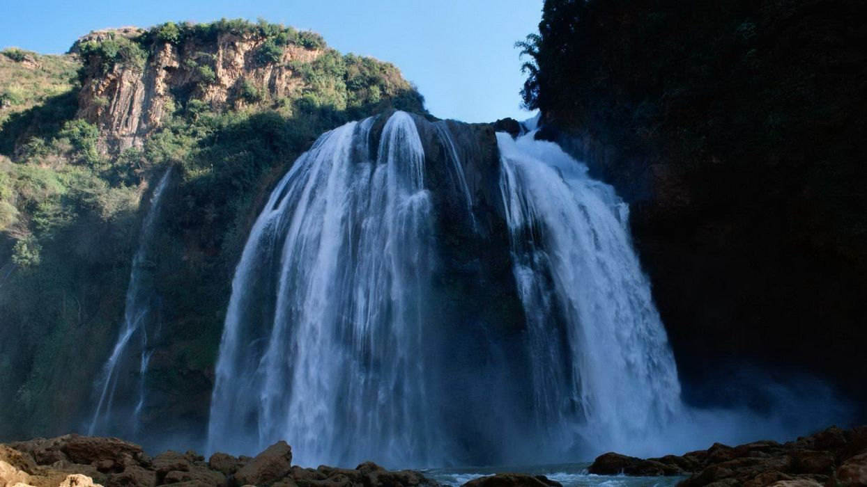 landscapes waterfalls wallpaper