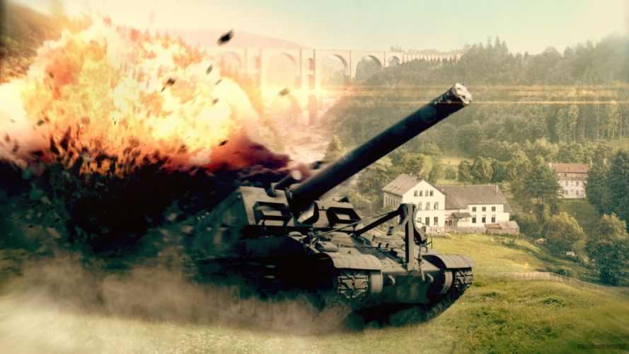 tanks World of Tanks renders wallpaper