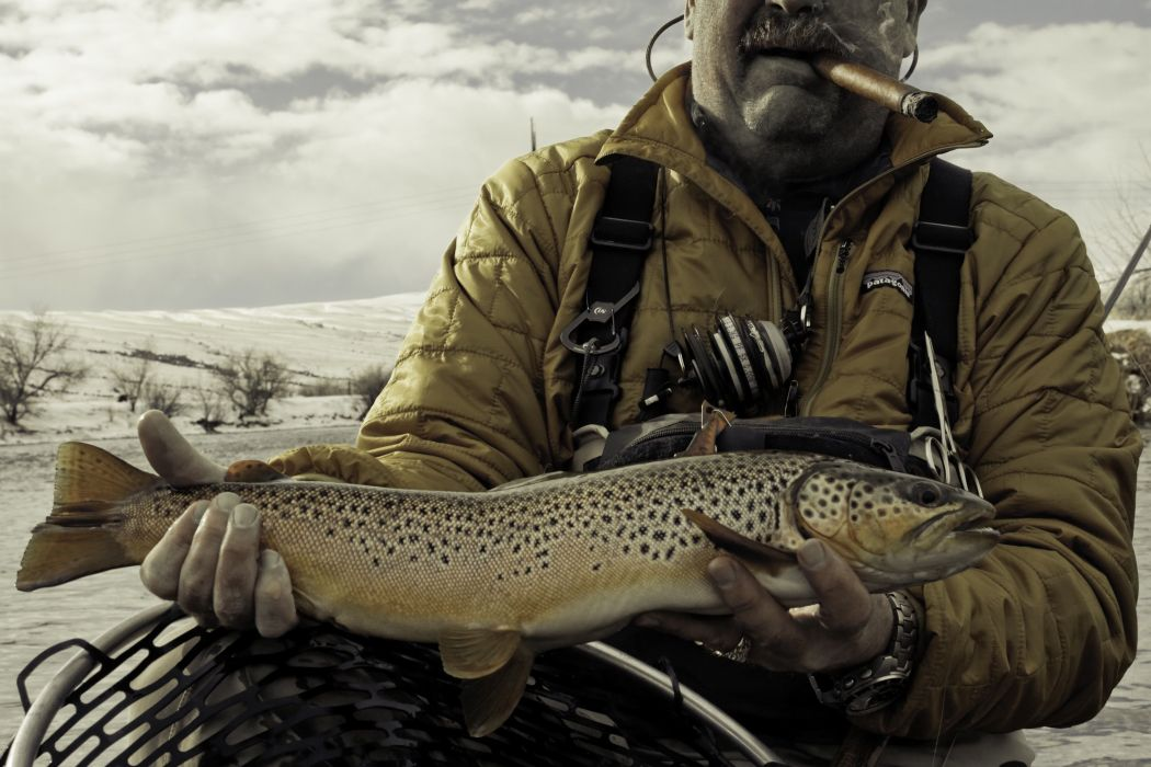FISHING fish sport water fishes winter river trout steelhead wallpaper