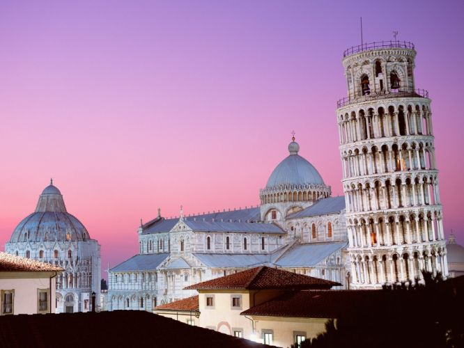leaning tower of pisa italy-normal wallpaper