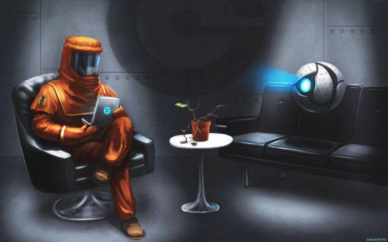 68 Romantically Apocalyptic fantasy sci-fi robot wallpaper