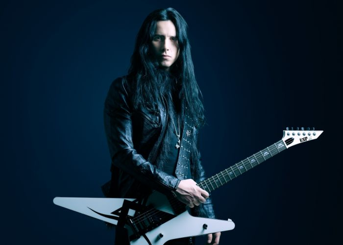 BLUE LANDS heavy metal guitar power speed melodic wallpaper