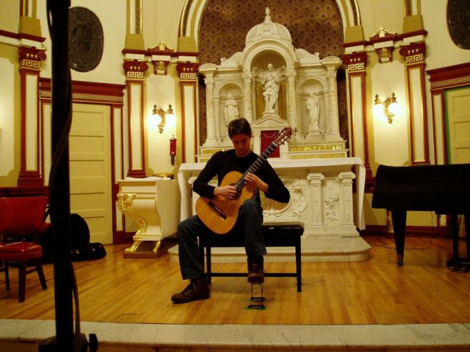 Cary Savage acoustic guitar wallpaper