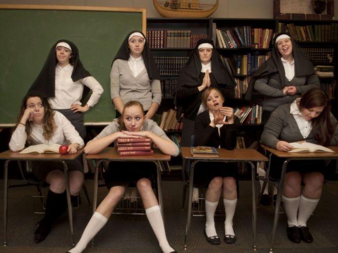 Catholic School Girls mood fetish babe sexy religion wallpaper