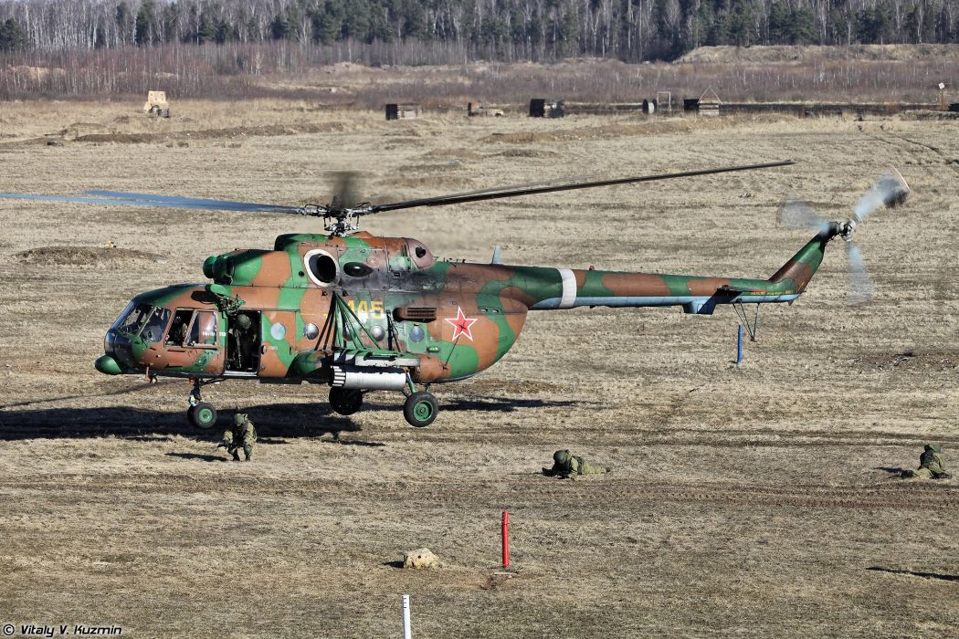 helicopter mi-24 33rd Special Purpose unit Peresvet russian police troops special wallpaper