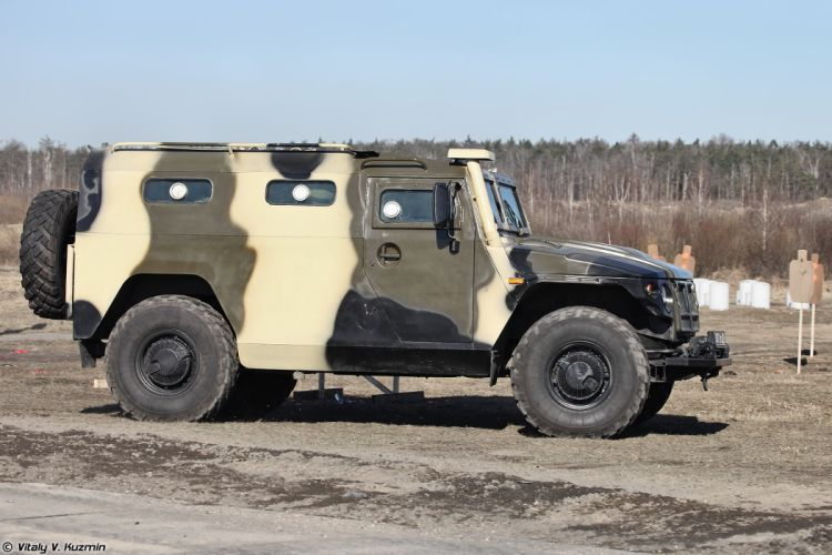GAZ-233036 SPM-2 4x4 armored 33rd Special Purpose unit Peresvet russian police troops special wallpaper