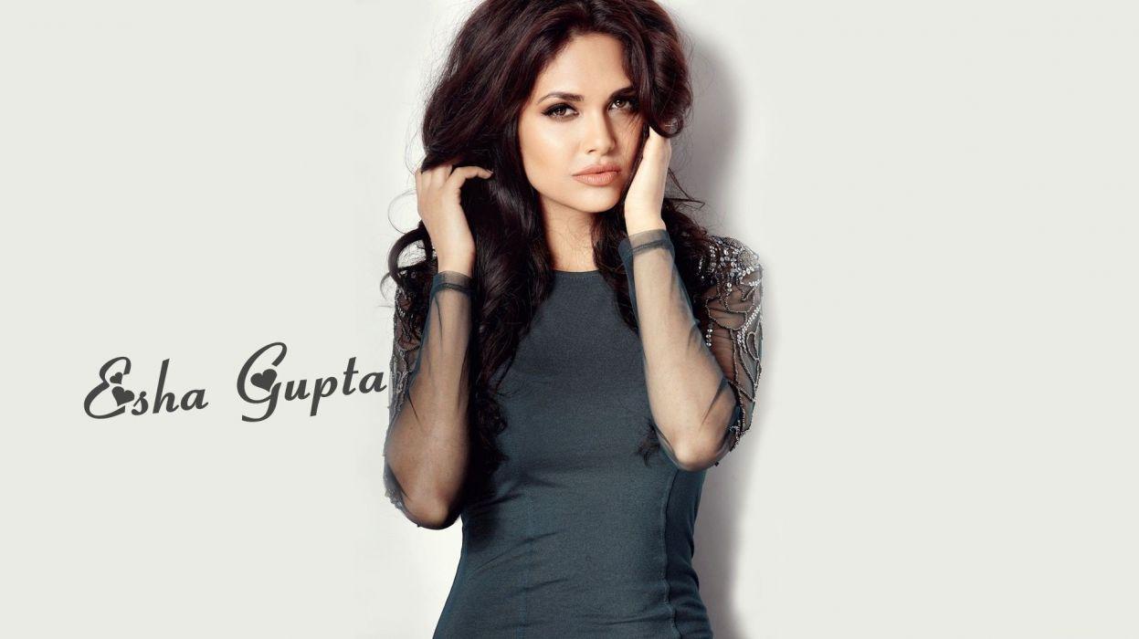 Babe Hd esha gupta indian actress bollywood model babe hd wallpaper