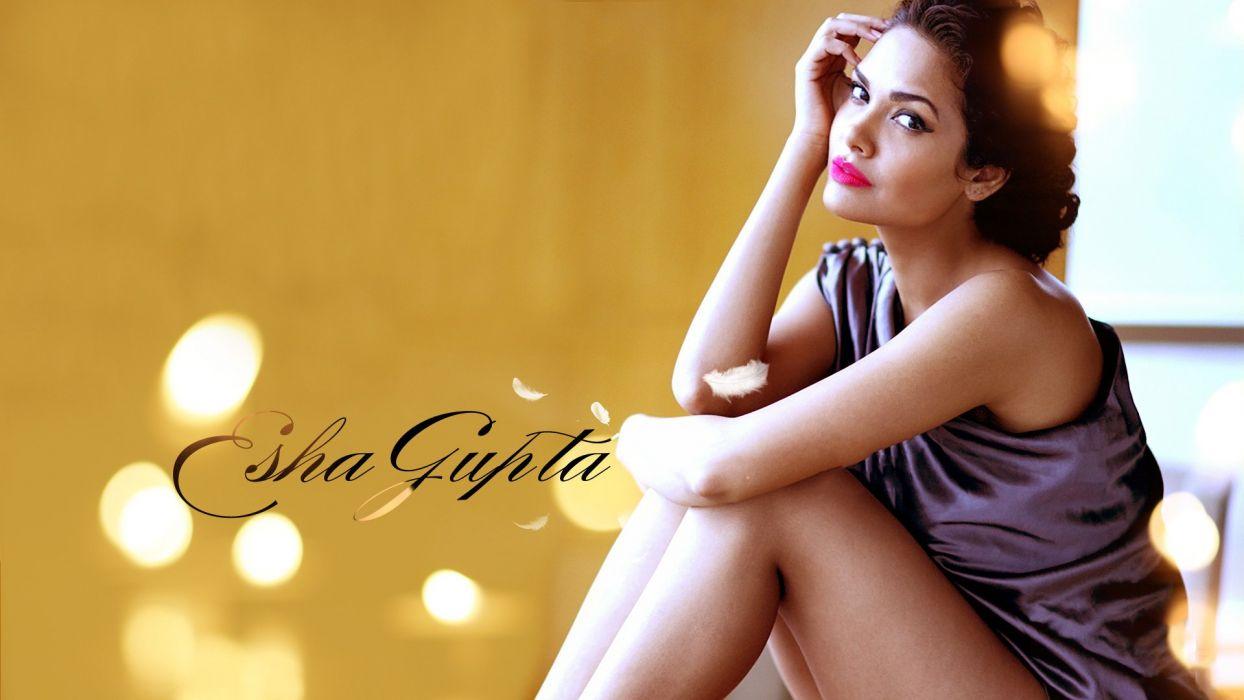 ESHA GUPTA indian actress bollywood model babe    ur wallpaper