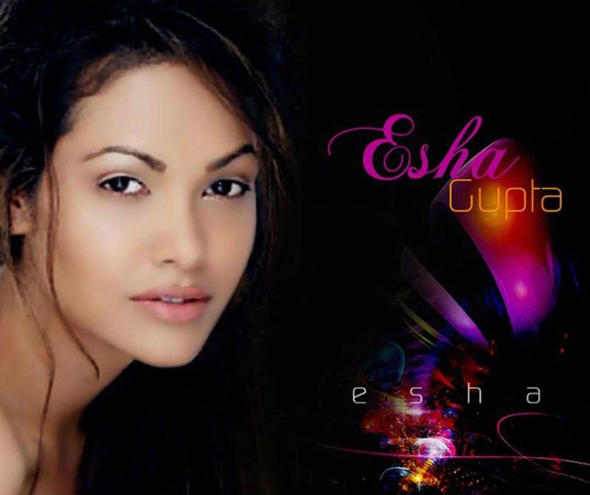 ESHA GUPTA indian actress bollywood model babe  et wallpaper